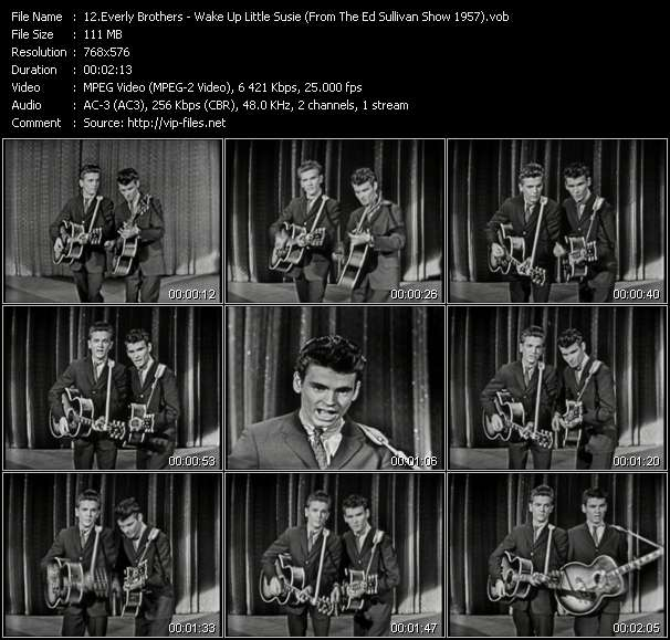 Everly Brothers video screenshot
