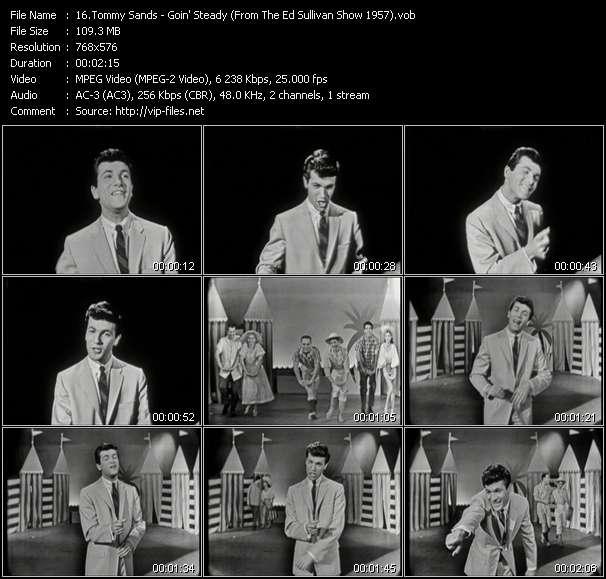 Tommy Sands video screenshot