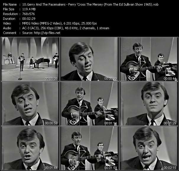 Gerry And The Pacemakers video screenshot