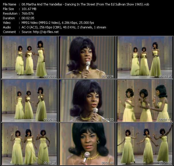 Martha And The Vandellas video screenshot