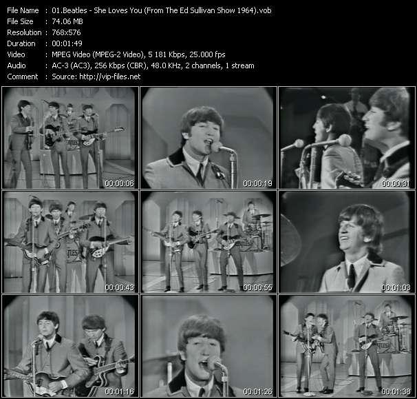 Beatles video screenshot