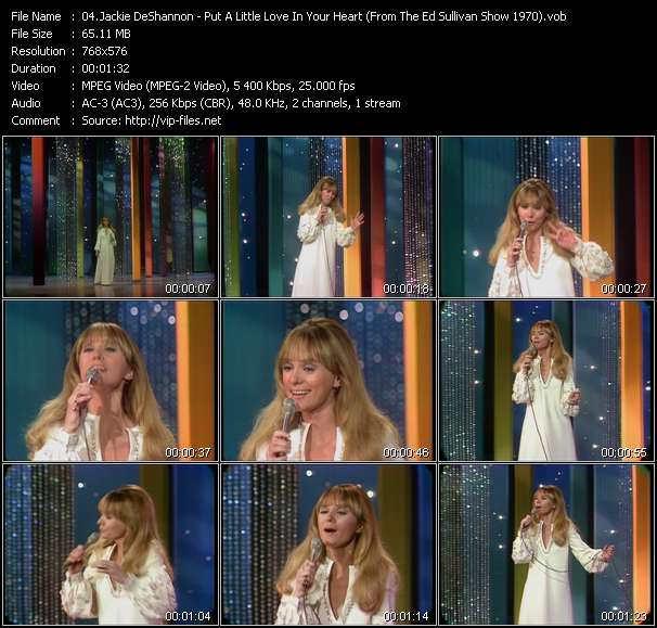 Jackie DeShannon video screenshot