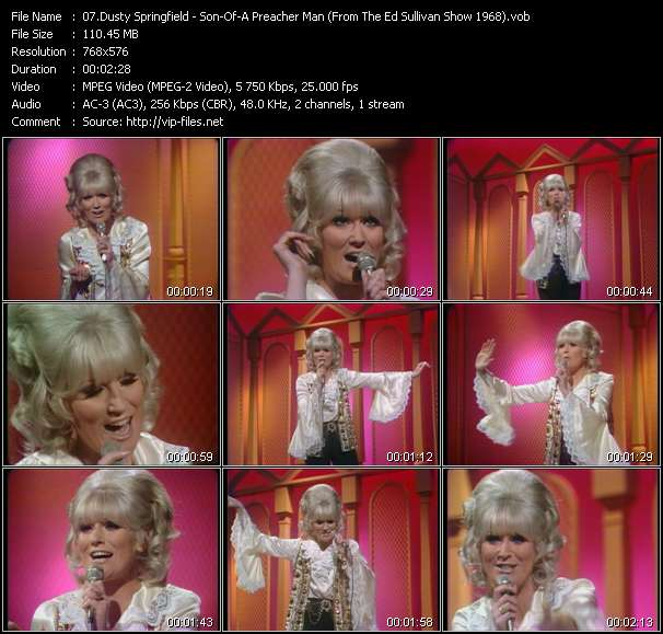 Dusty Springfield video screenshot