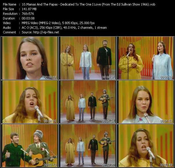 Mamas And The Papas video screenshot