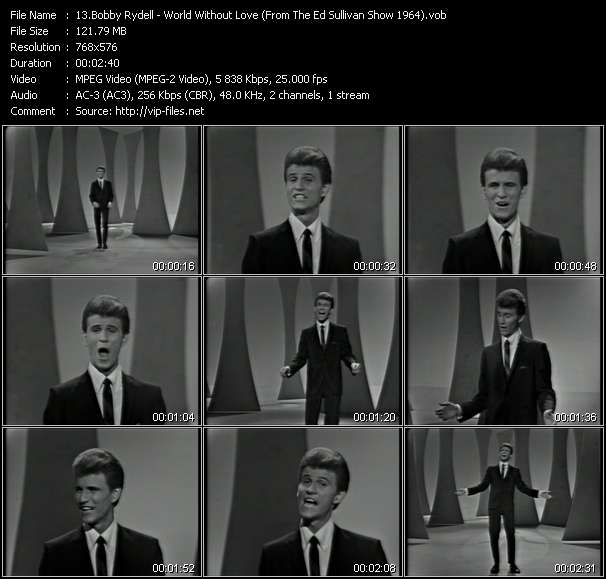 Bobby Rydell video screenshot