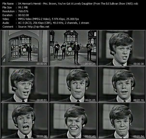 Herman's Hermits video screenshot