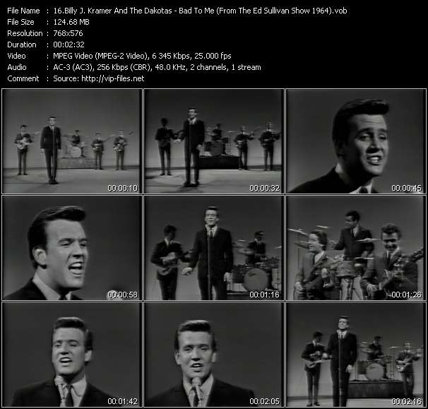 Billy J. Kramer And The Dakotas video screenshot
