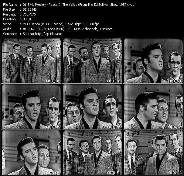 Elvis Presley video screenshot