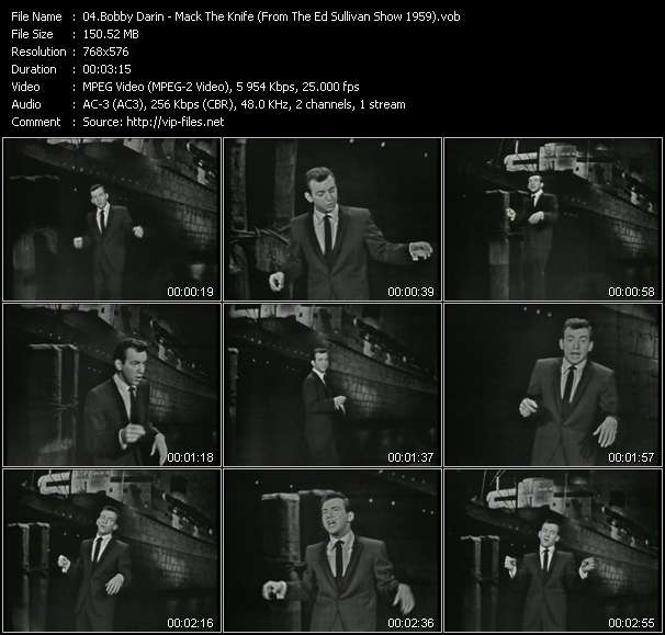 Bobby Darin video screenshot