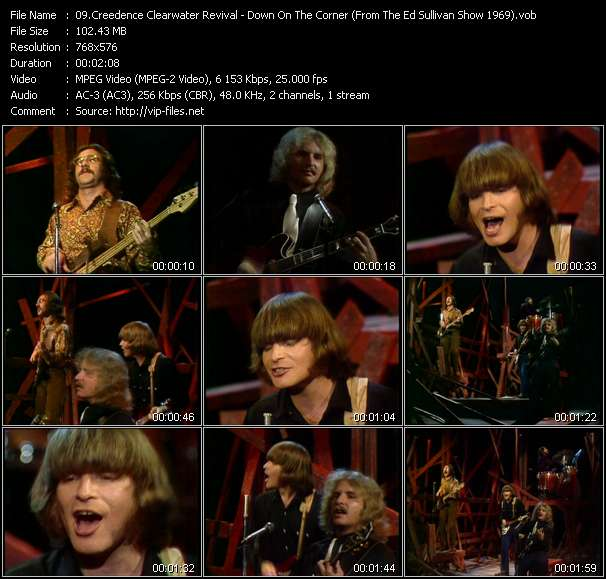 Creedence Clearwater Revival video screenshot
