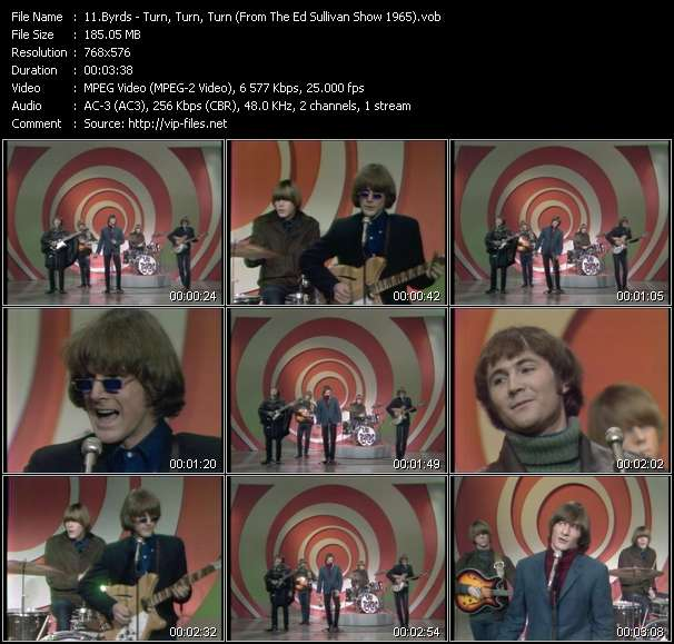 Byrds video screenshot