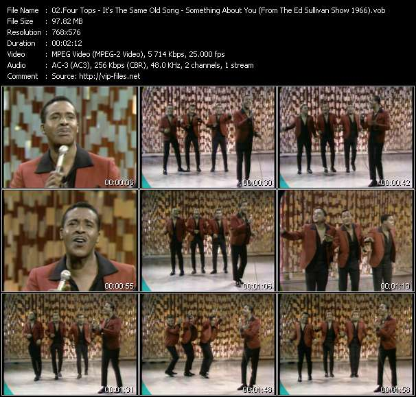 Four Tops video screenshot