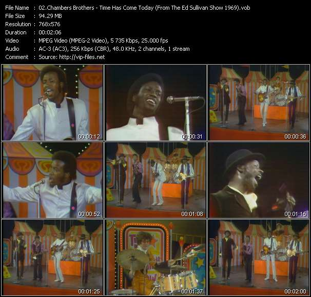 Chambers Brothers video screenshot