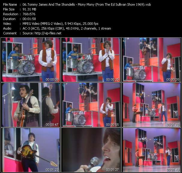 Tommy James And The Shondells video screenshot