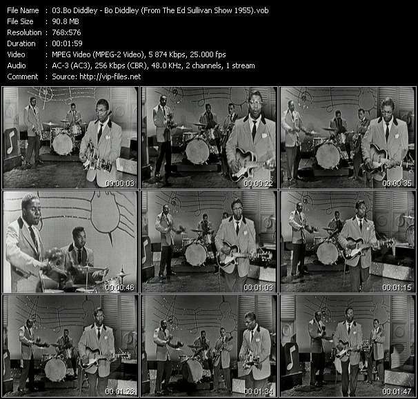 Bo Diddley video screenshot