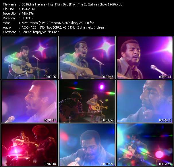 Richie Havens video screenshot