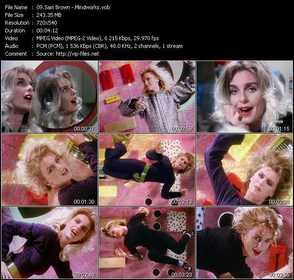 Sam Brown video screenshot