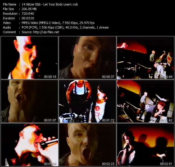 Nitzer Ebb video screenshot