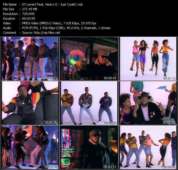 Levert Feat. Heavy D video screenshot