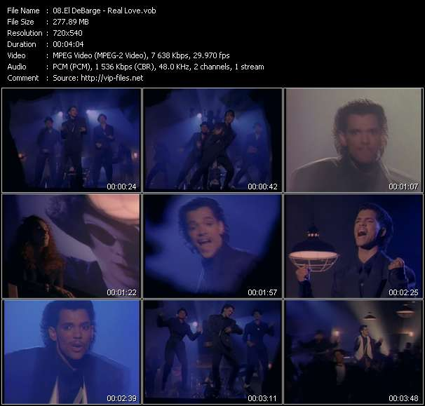 El DeBarge video screenshot