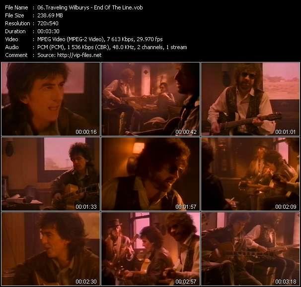 Traveling Wilburys video screenshot