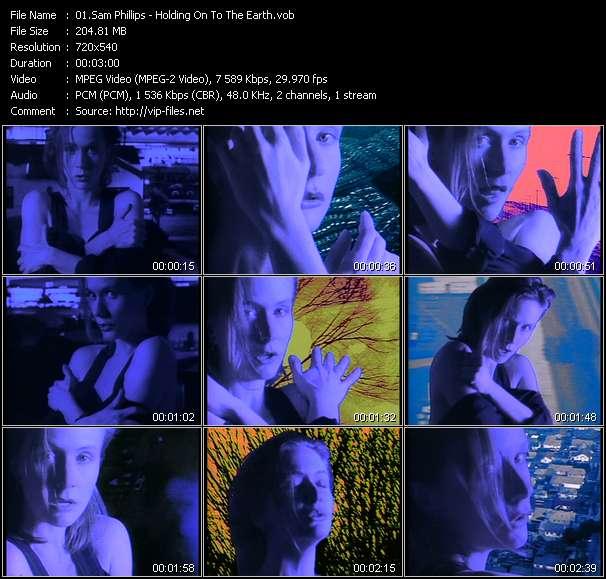 Sam Phillips video screenshot