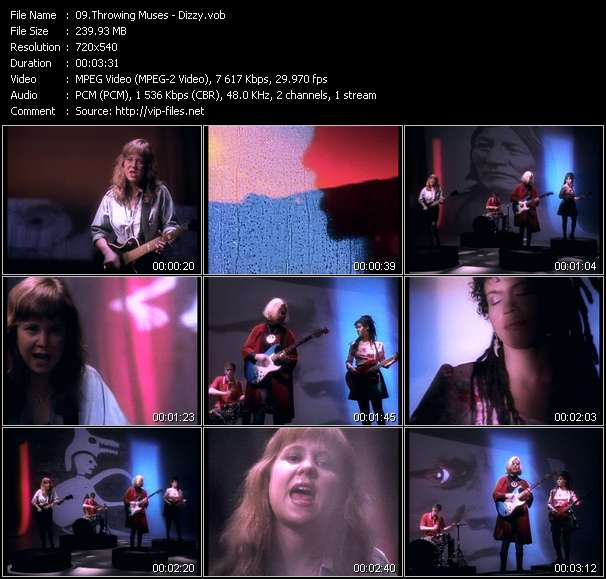 Throwing Muses video screenshot