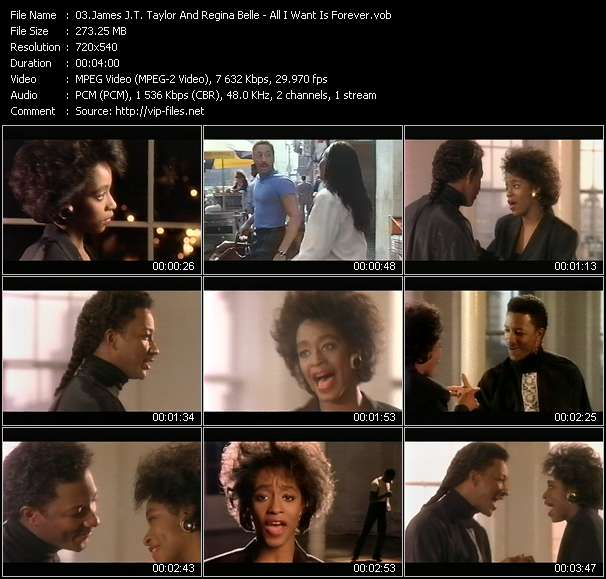 James J.T. Taylor And Regina Belle video screenshot