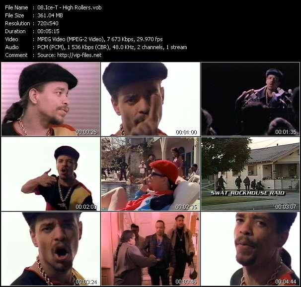 Ice-T video screenshot