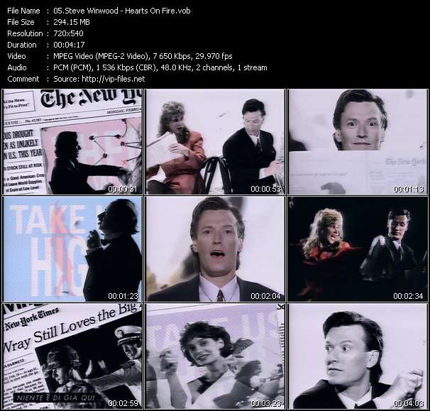 Steve Winwood video screenshot