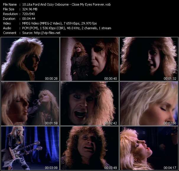 Lita Ford And Ozzy Osbourne video screenshot