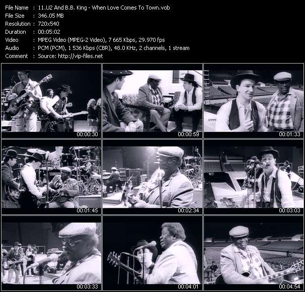 U2 And B.B. King video screenshot