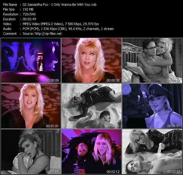 Samantha Fox video screenshot