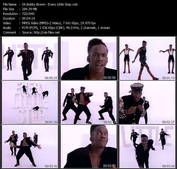 Bobby Brown video screenshot
