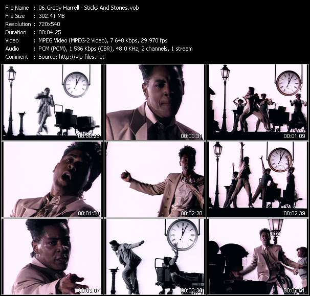 Grady Harrell video screenshot