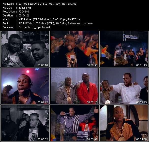 Rob Base And Dj E-Z Rock video screenshot