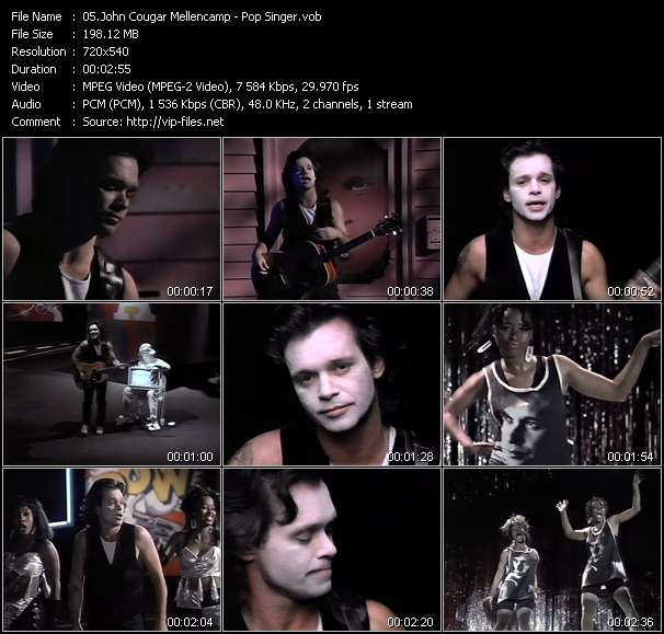 John Cougar Mellencamp video screenshot