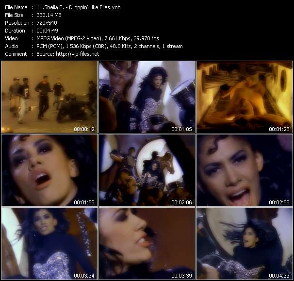 Sheila E. video screenshot