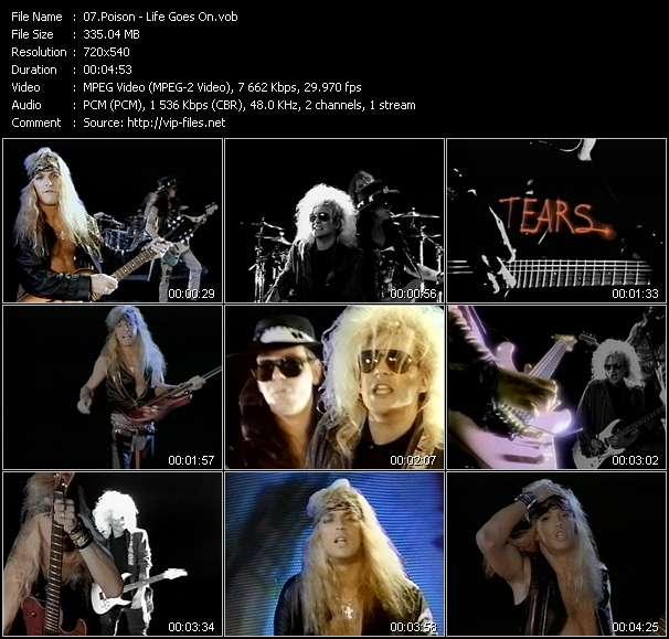 Poison video screenshot