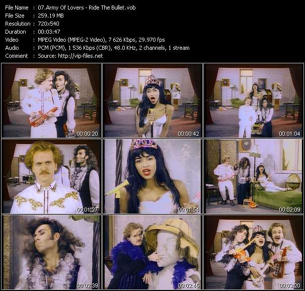 Army Of Lovers video screenshot