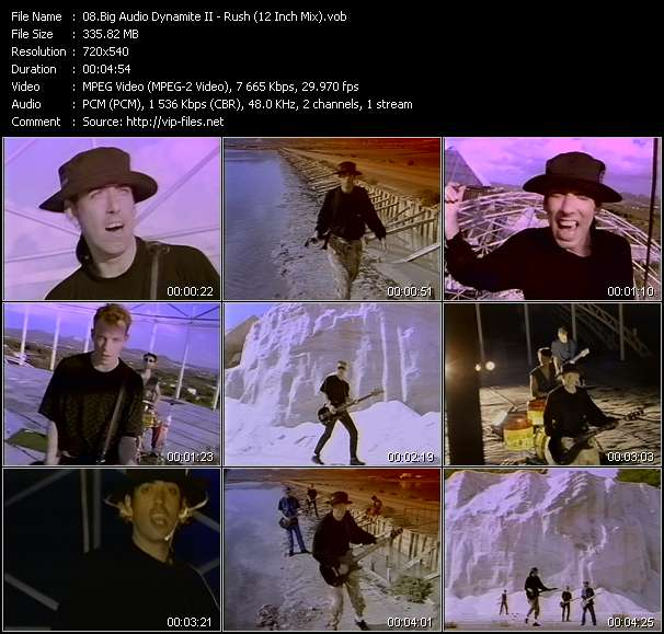 Big Audio Dynamite II video screenshot