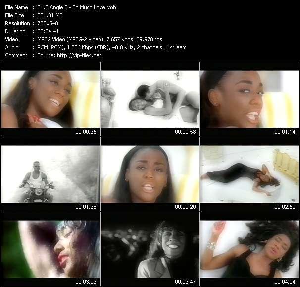 B Angie B video screenshot