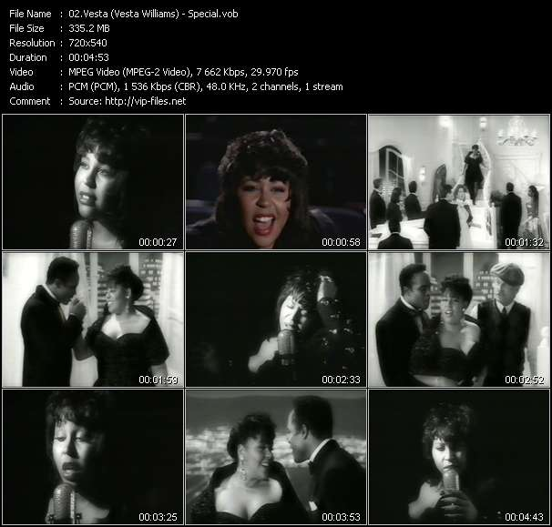 Vesta (Vesta Williams) video screenshot