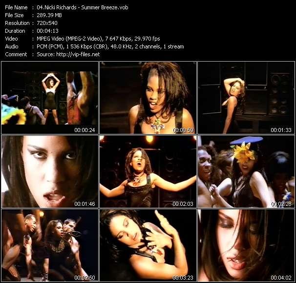 Nicki Richards video screenshot