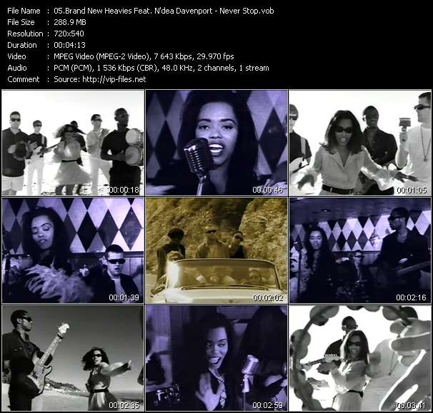 Brand New Heavies Feat. N'dea Davenport video screenshot