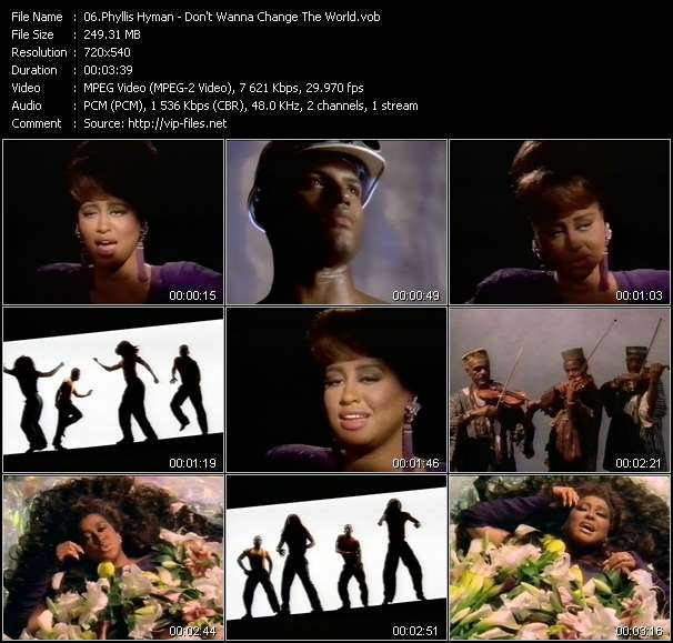Phyllis Hyman video screenshot