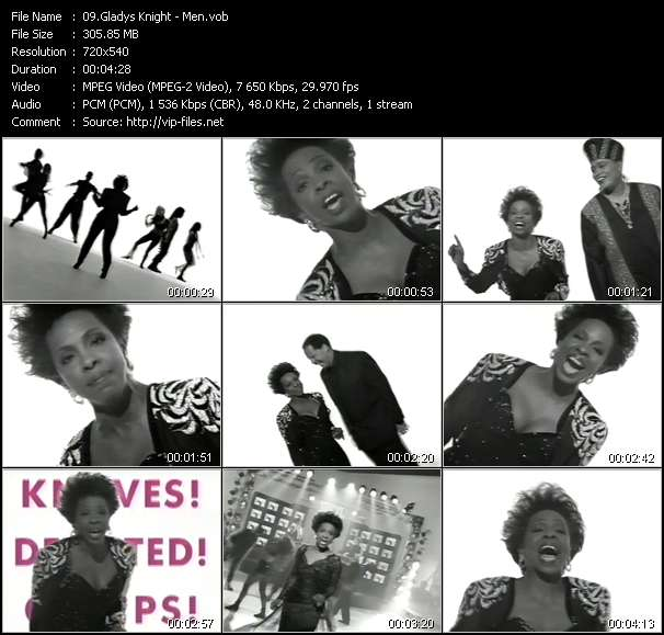 Gladys Knight video screenshot