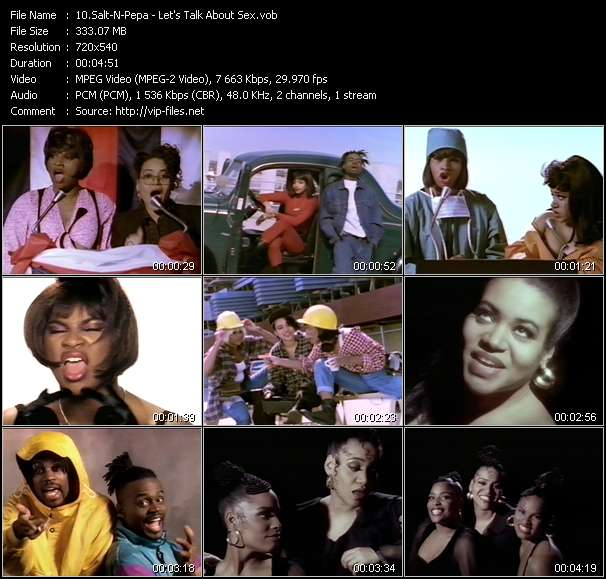 Salt-N-Pepa video screenshot