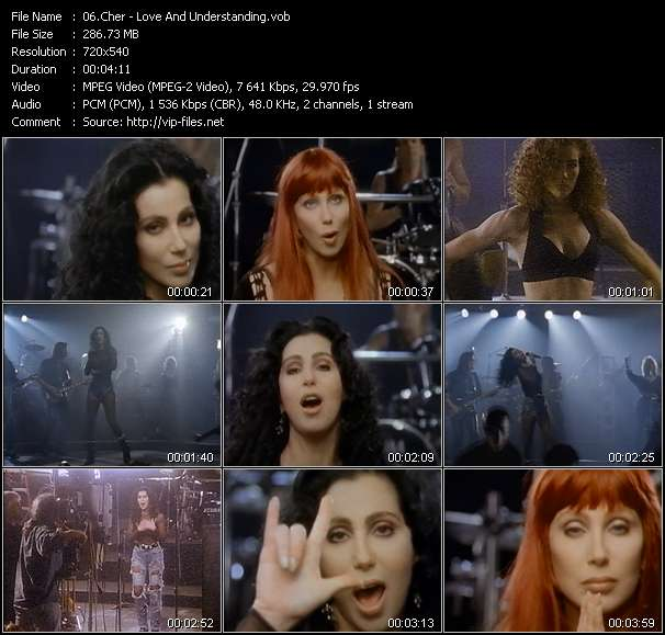 Cher video screenshot