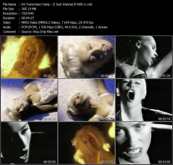 Transvision Vamp video screenshot